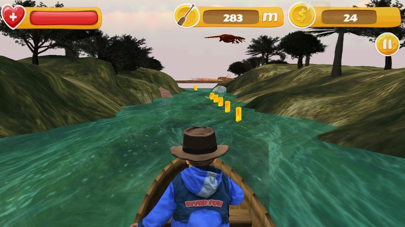 River Fun - 3D Jet Boat Racing
