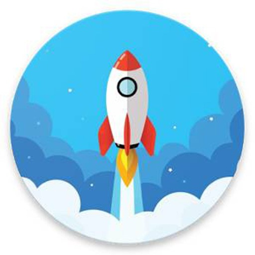 Rocket - animated screen lock