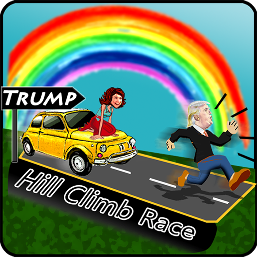 Trump Hill Climb Race Hillary