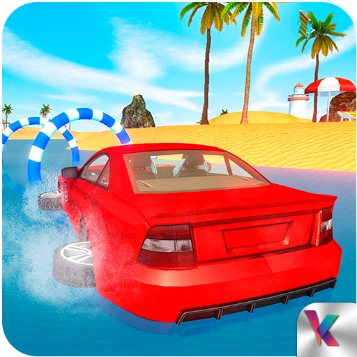 Water Surfer Beach Car Racing