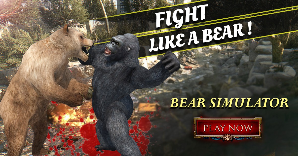 Wild Animal Bear Simulator 3D