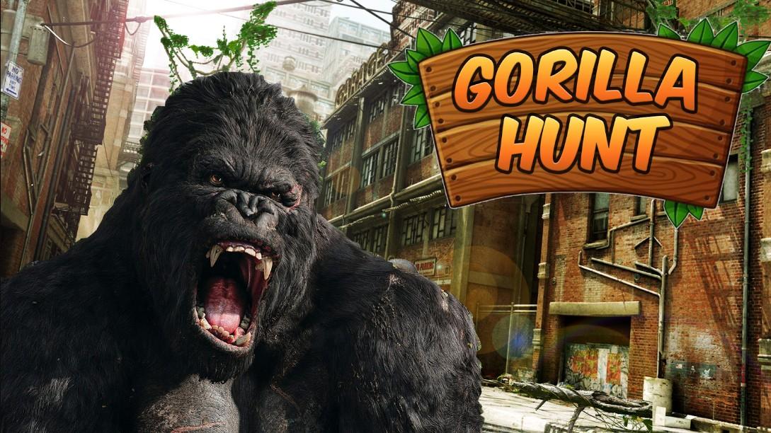 Wild Gorilla City Attack