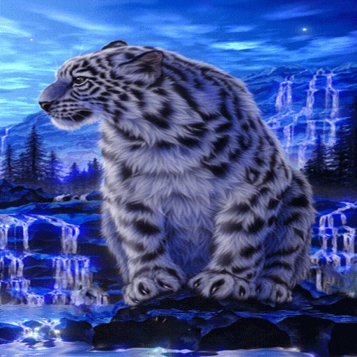 Winter Tiger Live Wallpaper