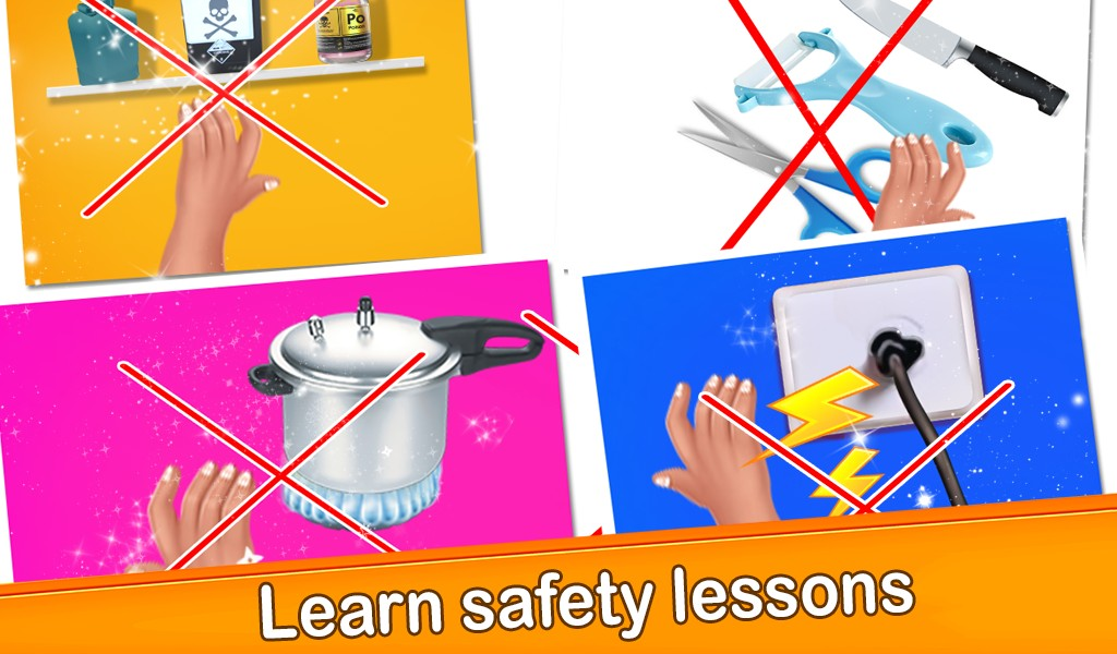 Children Basic Rules of Safety