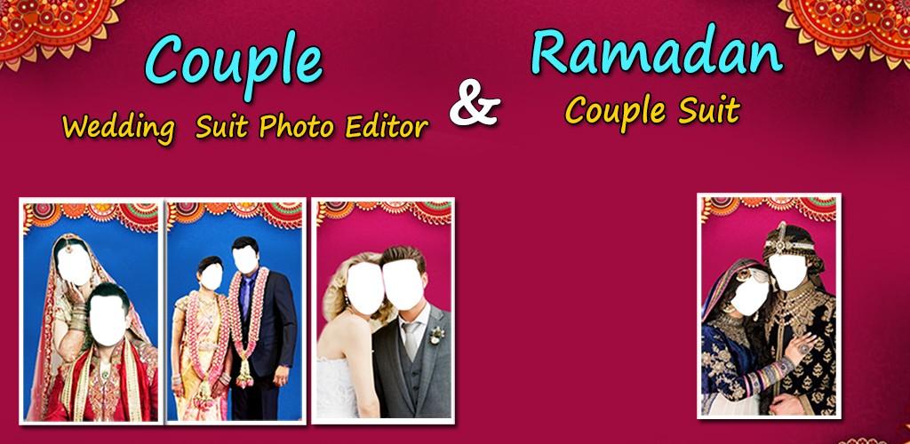 Couple Wedding Suit Photo Editor
