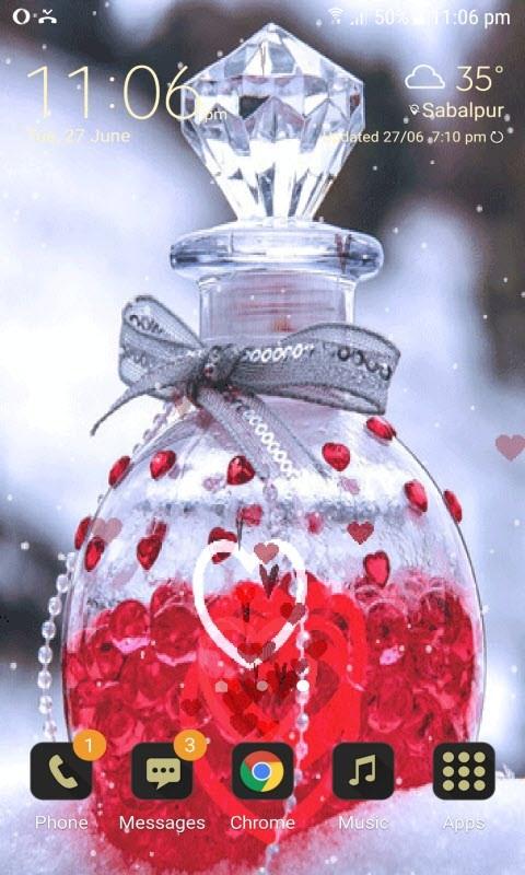 Love Jar Live Wallpaper
