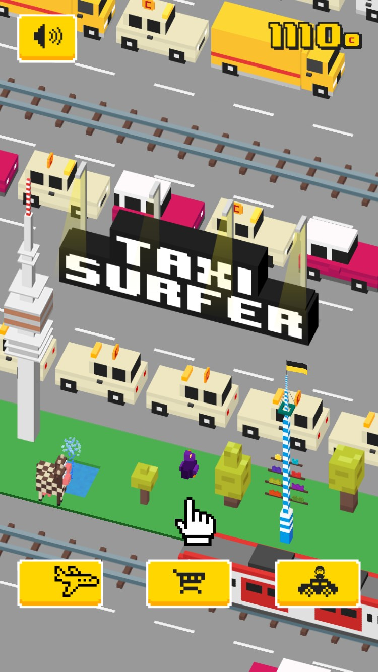 Taxi Surfer - Endless Arcade Jumper