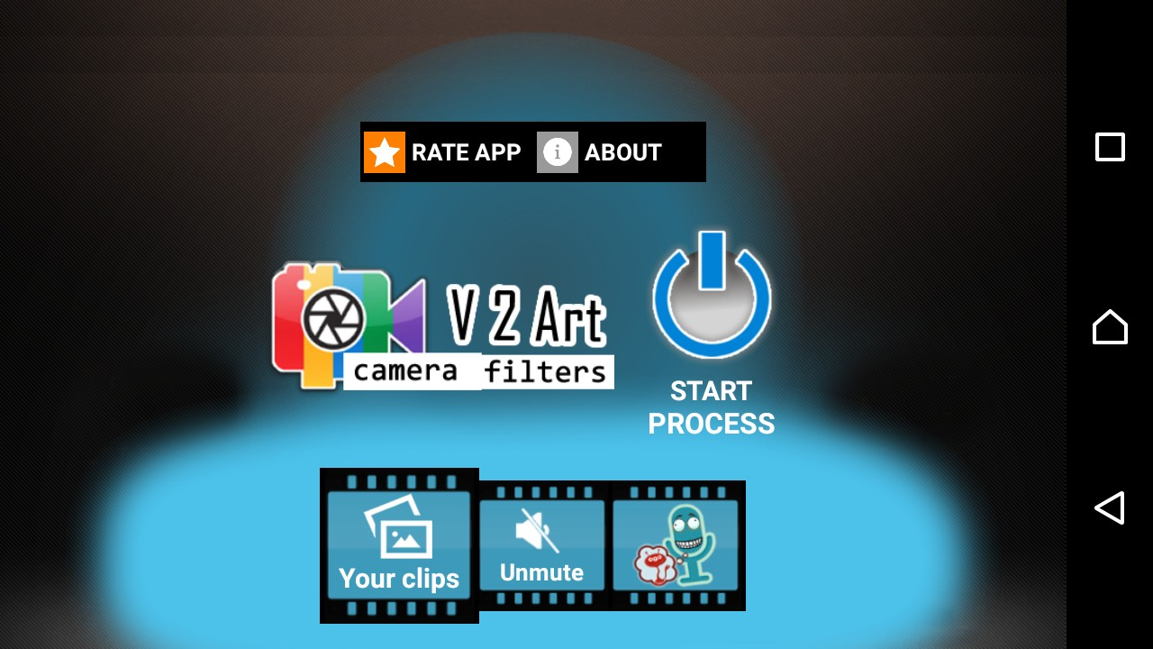 V2Art: video effects and filters