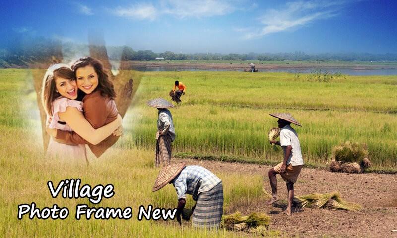 Village Photo Frame New