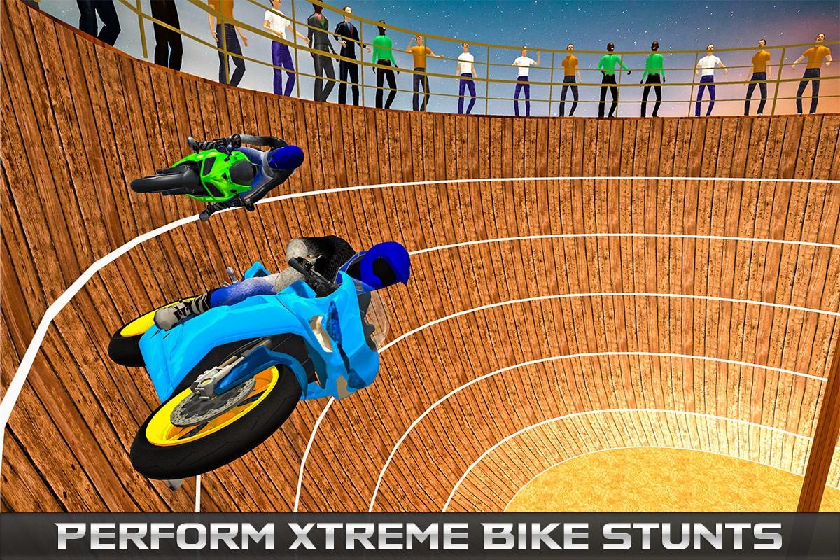 Well of Death Bike Stunts
