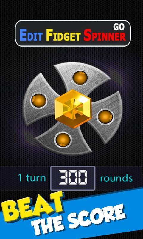 Real Fidget Spinner GO