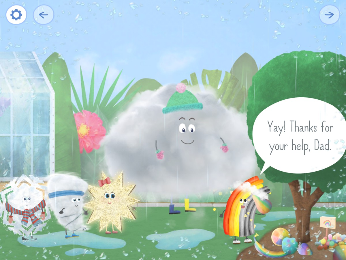 Rudi Rainbow Weather-Learning and Mini Games