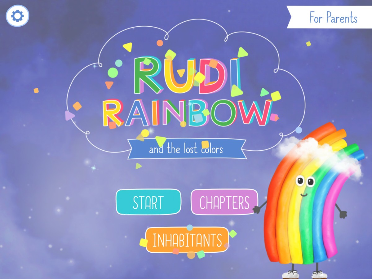 Rudi Rainbow Weather-Learning and Mini Games