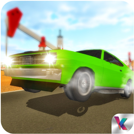 American Muscle Car Driving Adventure