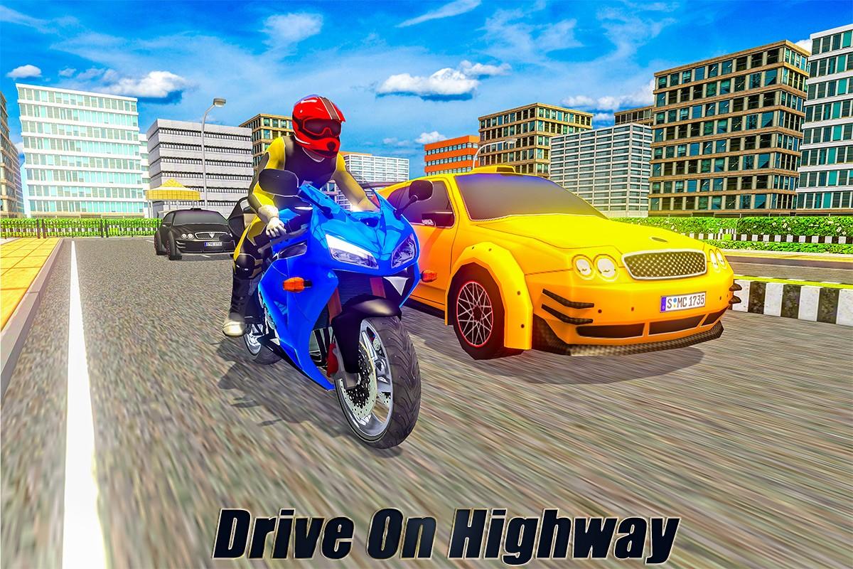 Bike Parking: Highway Stunts