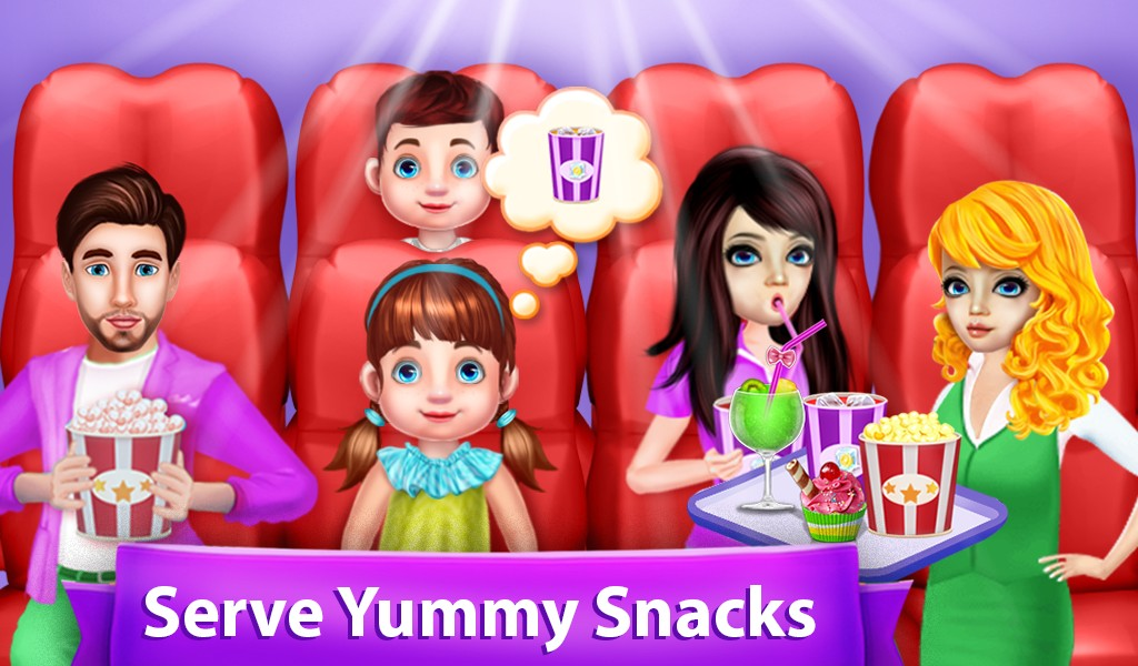 Family Friend Movie Night Out Party