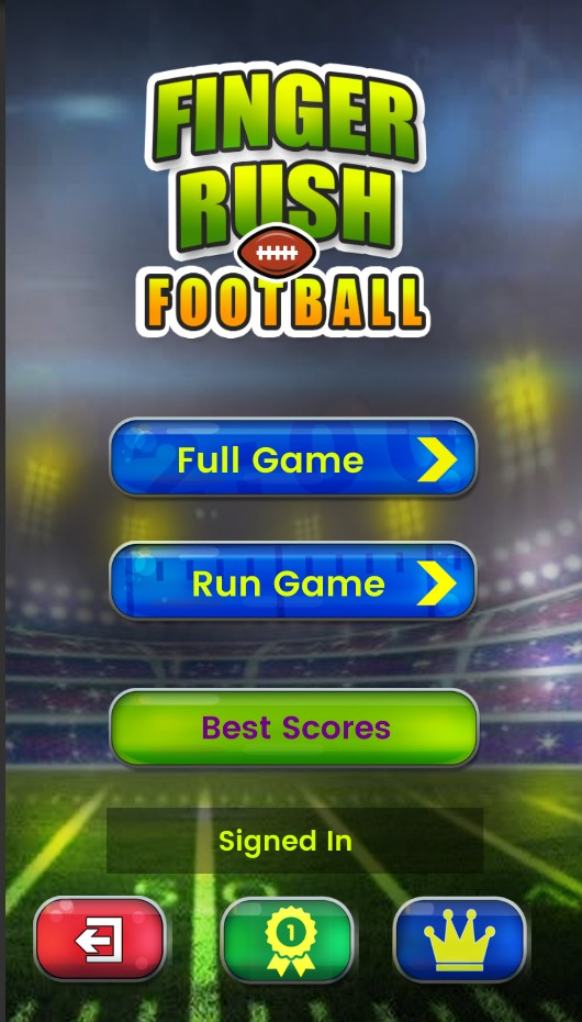 Finger Rush Football