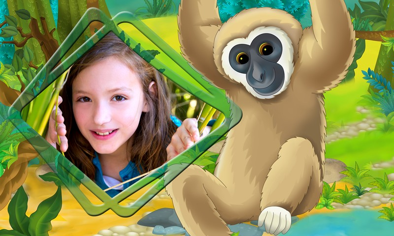 Jungle Kids Photo Frames