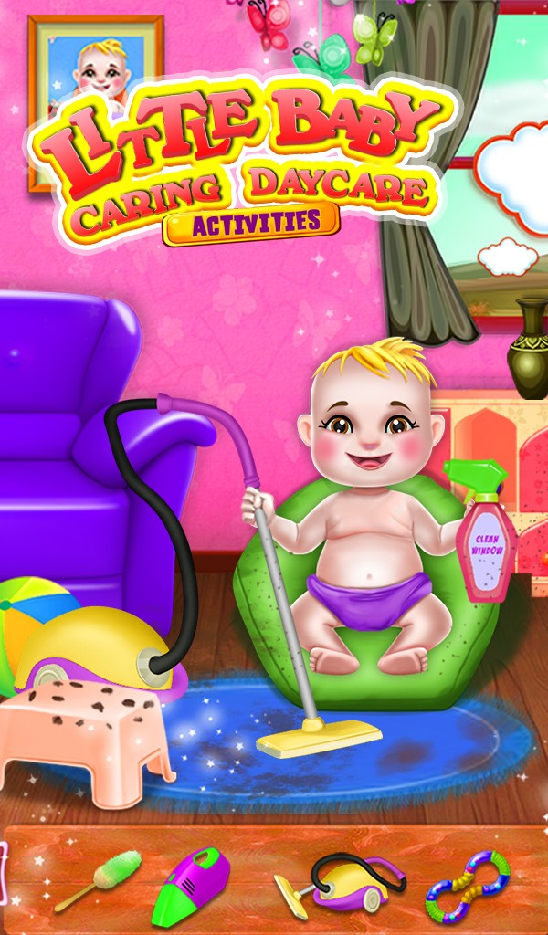 Little Baby Caring Daycare Activities