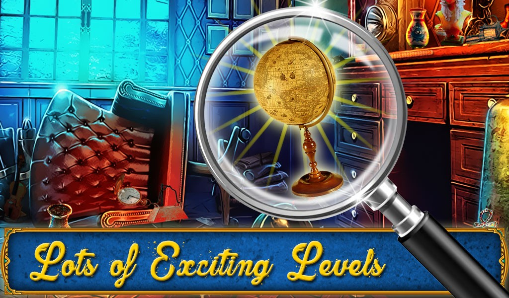 Mystery Houses Hidden Objects