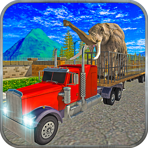 Truck & Crane Sim: Animal Cargo Ship