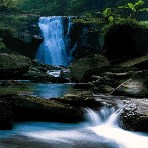 Beautiful Waterfall LWP