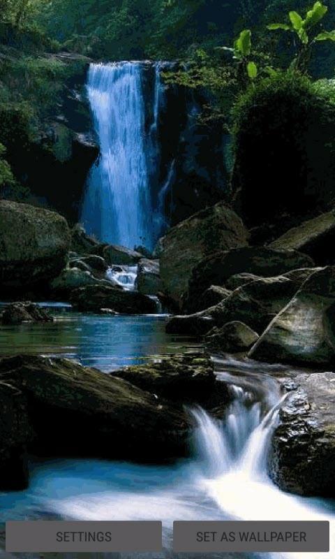 Beautiful Waterfall LWP