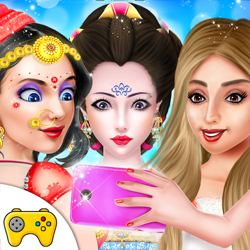 Country Theme Princess Makeup Dressup Salon