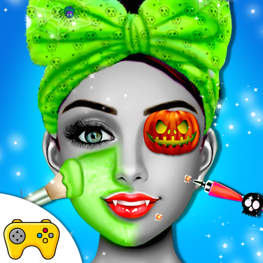 Halloween Monster Princess Fashion Salon