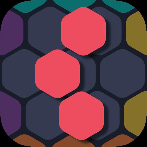 Hexa 1010 - Addicive Hex Fill The Blocks Hexagon - Connect & Fill Hexagon Blocks