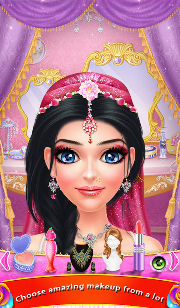 Indian Wedding Bride Hair Do Design Hair Styles