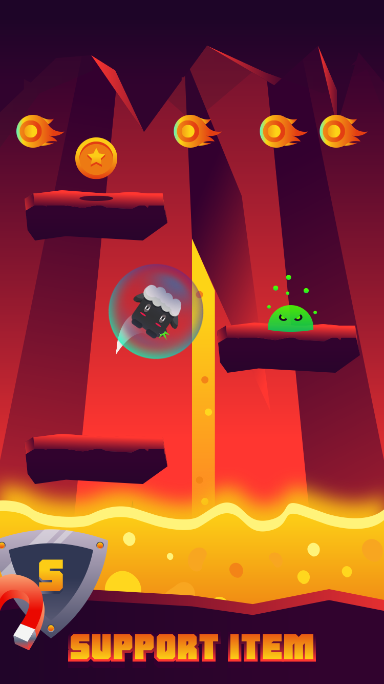 Lava Child : Final Jump