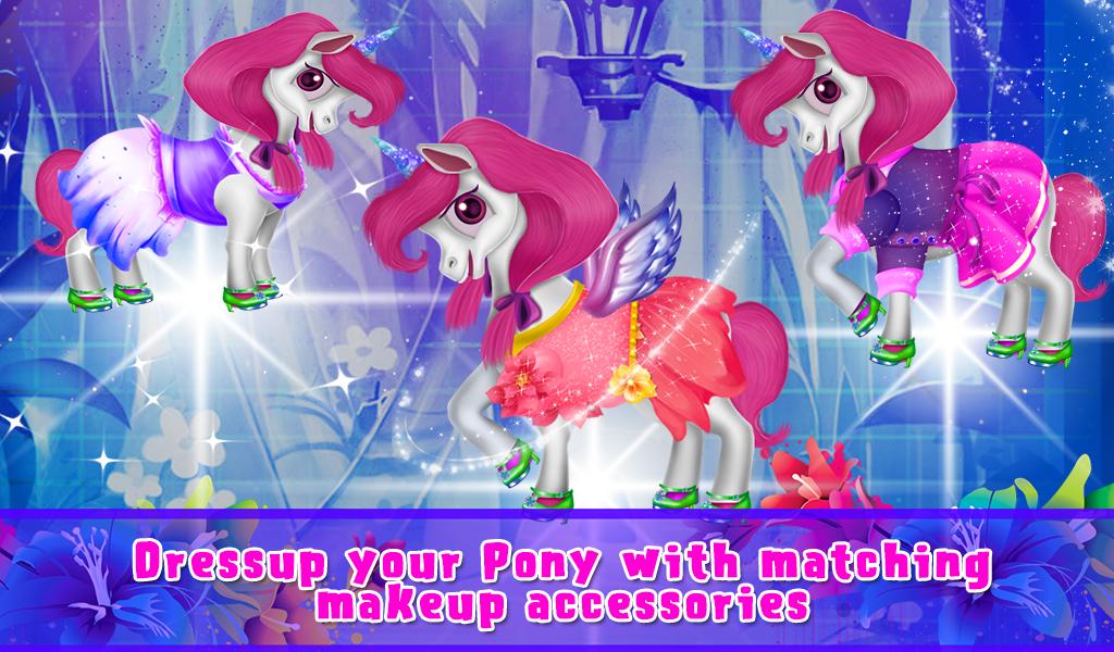 Pony Fashion Salon Makeover