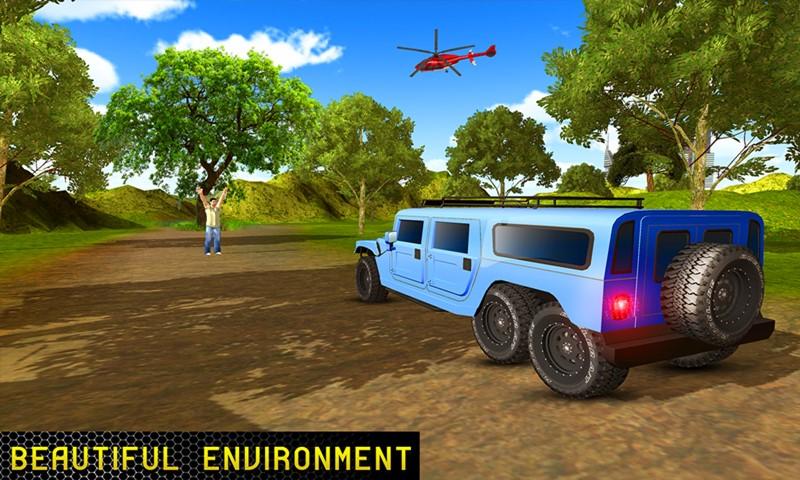 6x6 Truck Offroad Driving Adventure