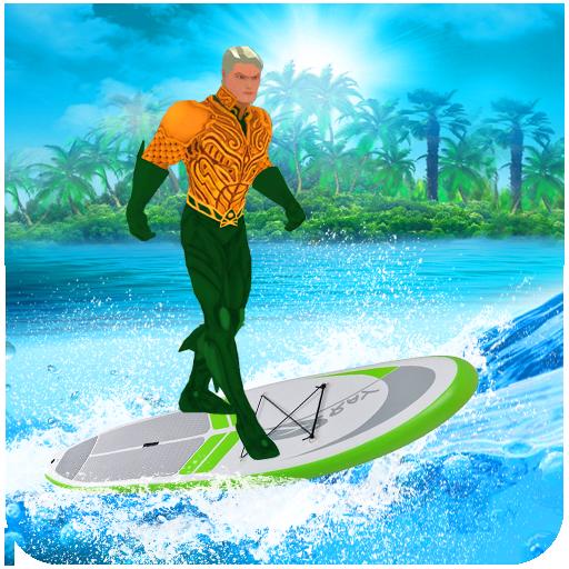 Aqua Hero VS Superheroes Crime Battle