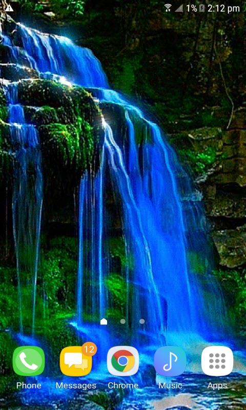 Blue Fall Magic LWP