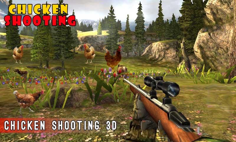 Chicken Shoot 3D Sniper Shooter