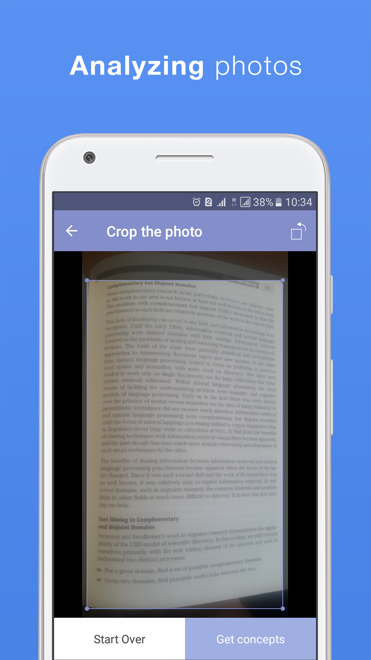 Conceptmeister: Free Document Summarizer