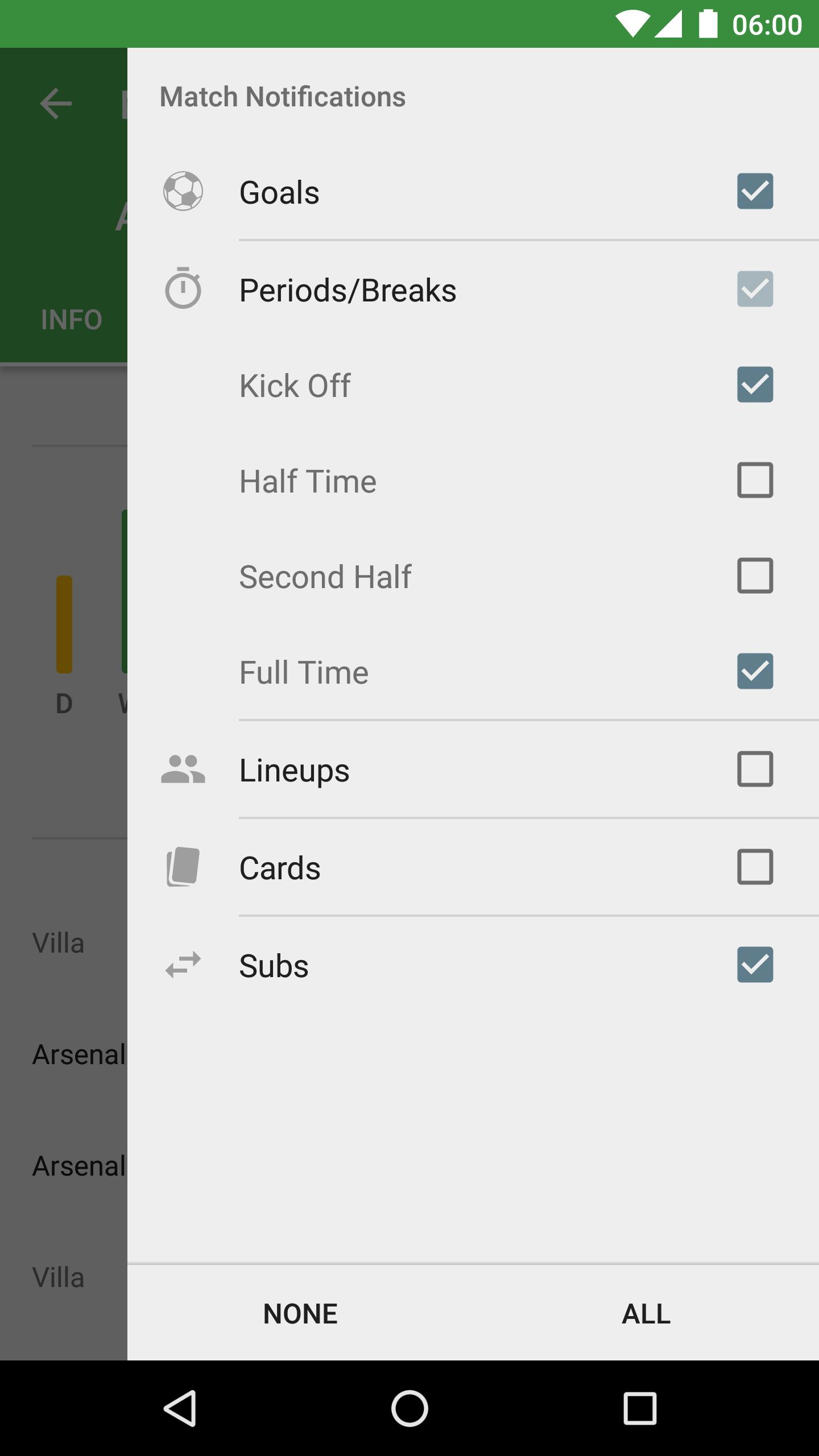 CrowdScores - Live Scores