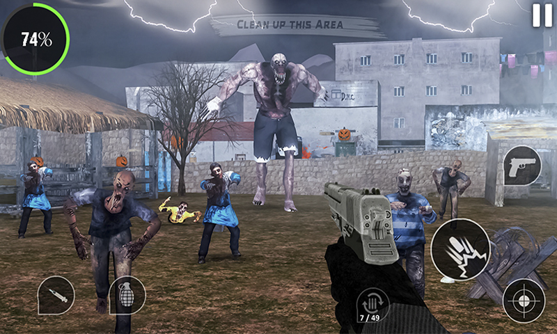 Dead island Zombie Games 3D