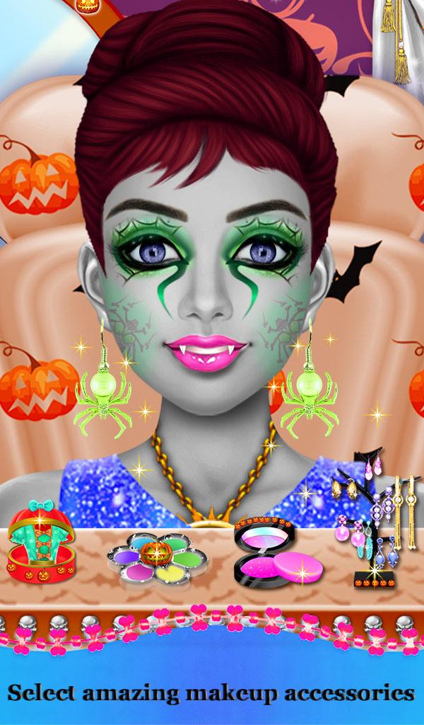 Halloween Stylist Hair Beauty Salon