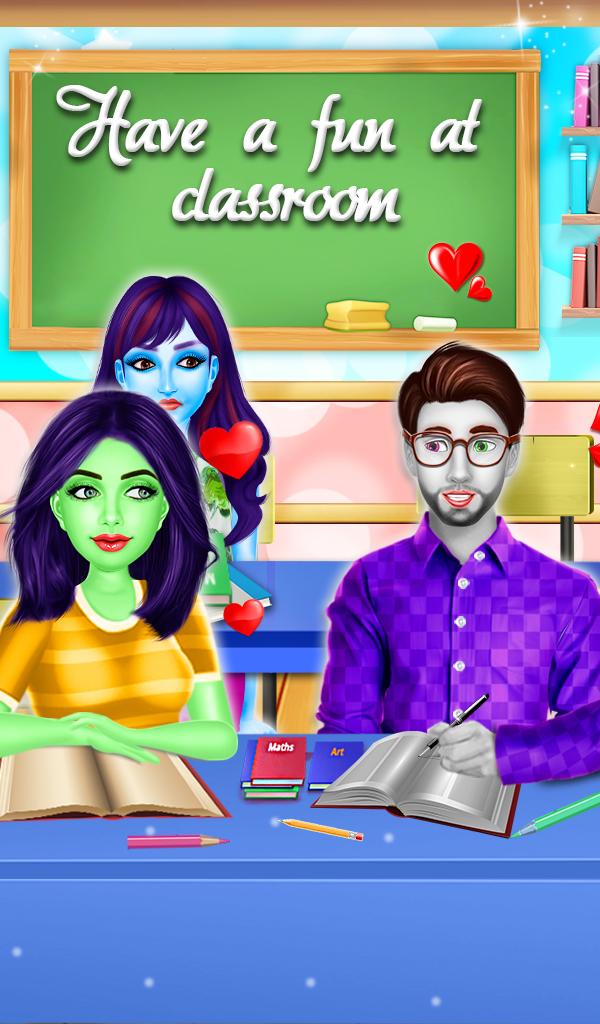 High School Breakup Triangle:Halloween Love Affair