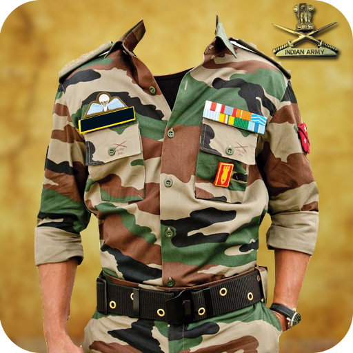 Indian Army Photo Uniform Editor - Army Suit maker