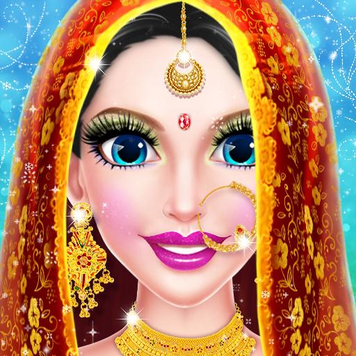 Indian Girl Spa Salon Makeup