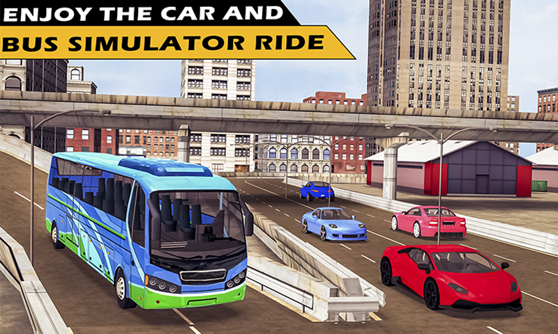 Learning Car Bus Driving Simulator game