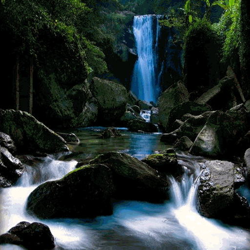 Mountain Waterfall Live Wallpaper