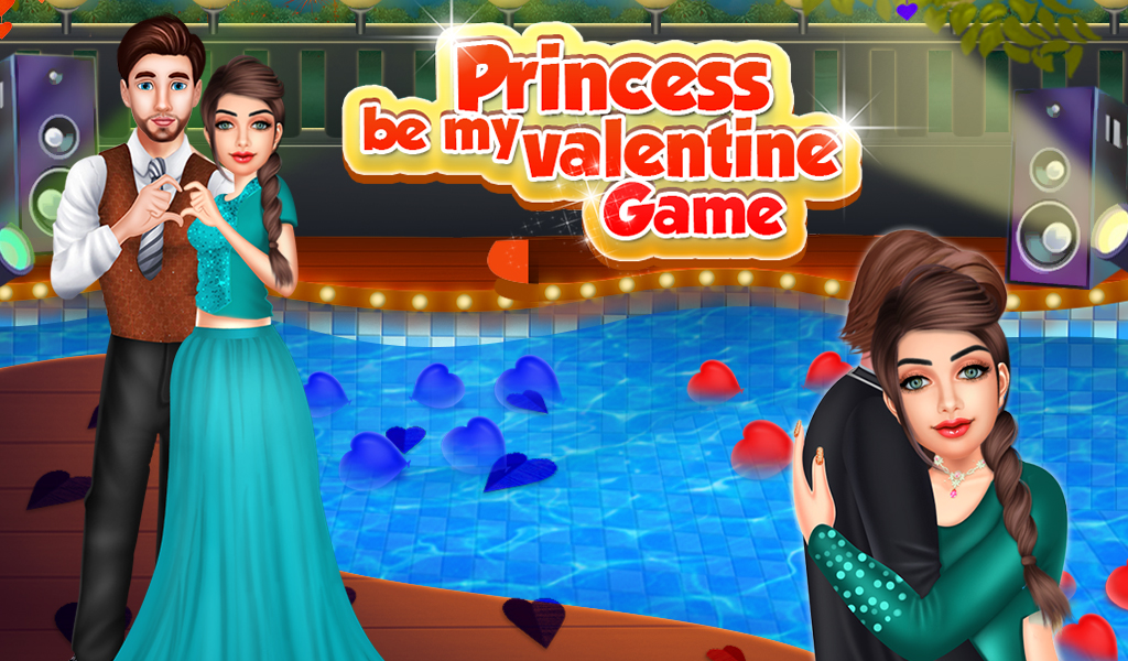 Princess Be My Valentine Game