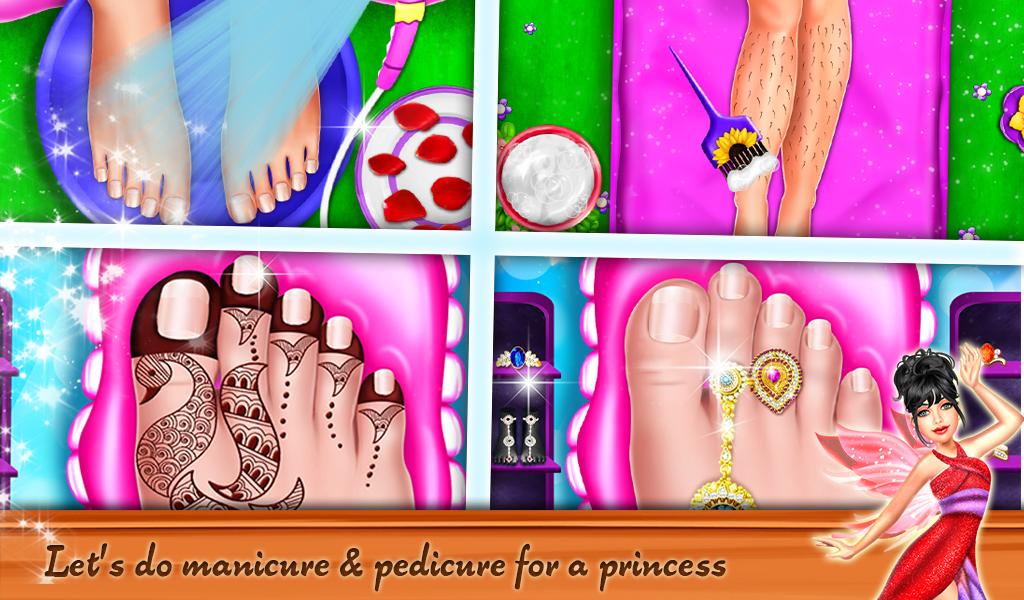 Princess Makeup Dressup Artist