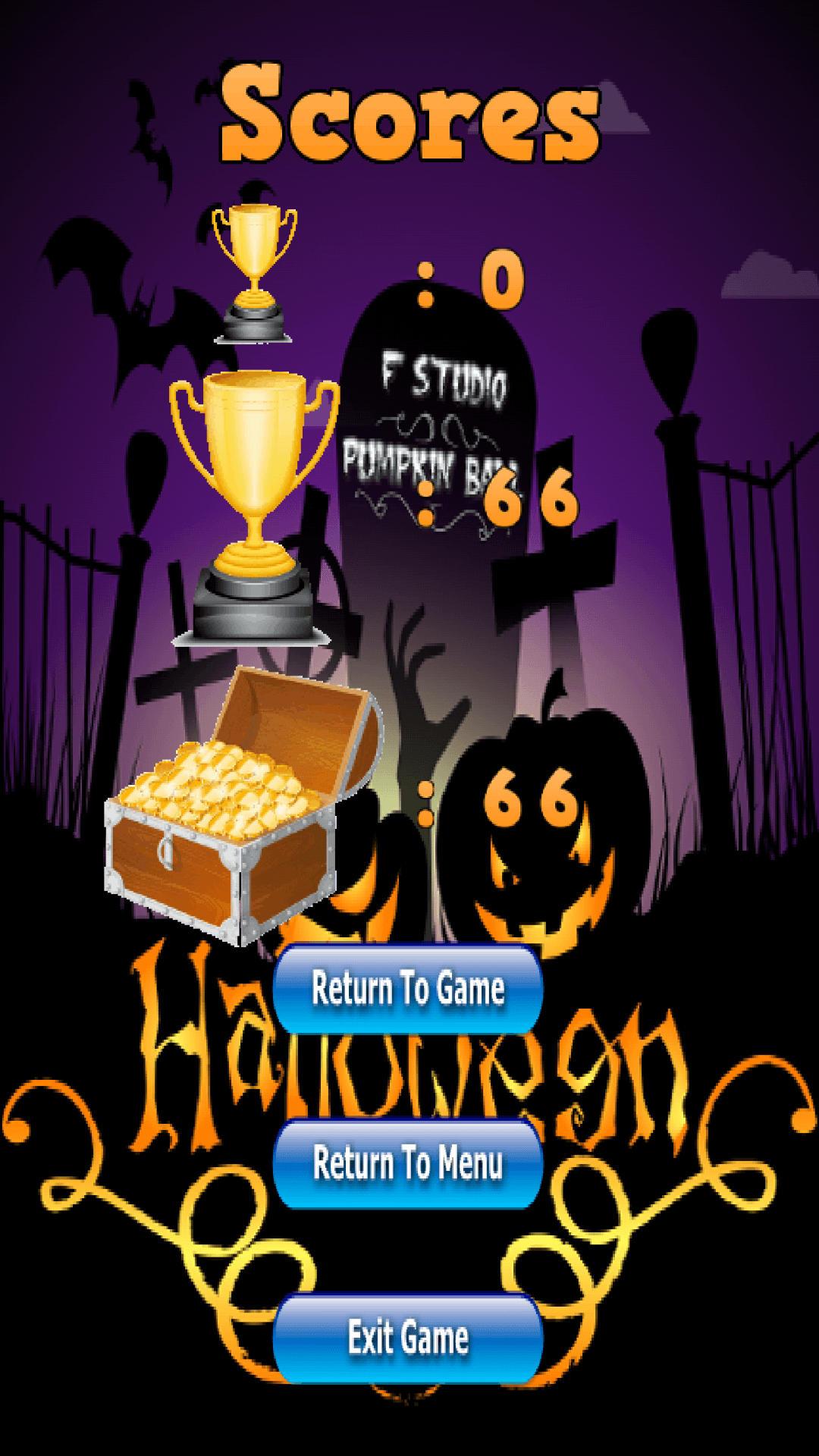 Pumpkin Ball - Halloween Game