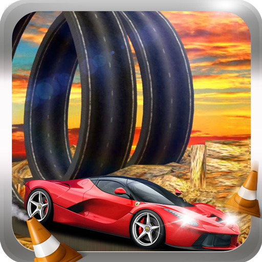 Racing Car Stunts On Impossible Tracks Tricky Path